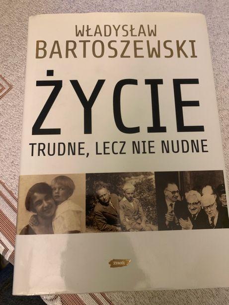 """""""Życie trudne lecz nie nudne"""" Władysław Bartoszewski dostawa 1zł"""