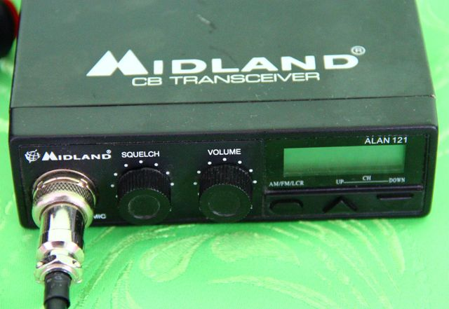 CB radio Midland Alan 121 + antena President kompletny zestaw!