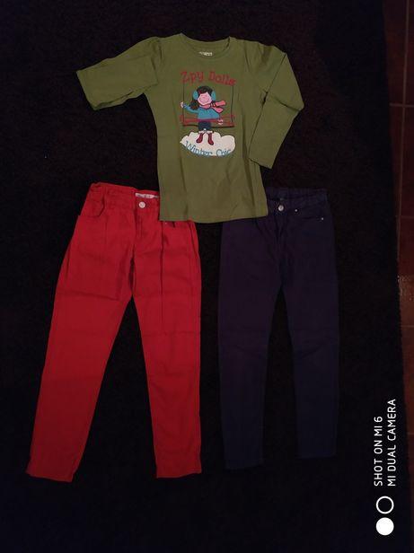 2 calças (oferta camisola)