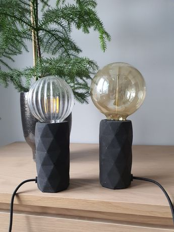 Dwie lampki stołowe Watt & Veke