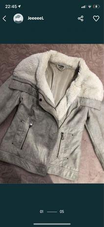 Кожаная куртка косуха дублёнка кожанка шубка шубка меховая тедди