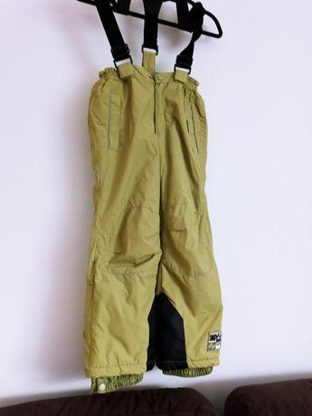 Spodnie ciepłe narciarskie r.122