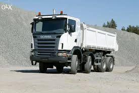 transport kliniec kruszywa otoczak ziemia piasek żwir kruszonka beton