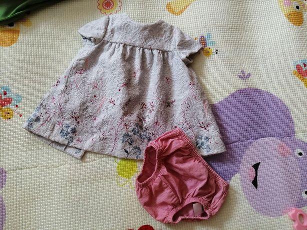 Платьеце для маленькой модницы Zara