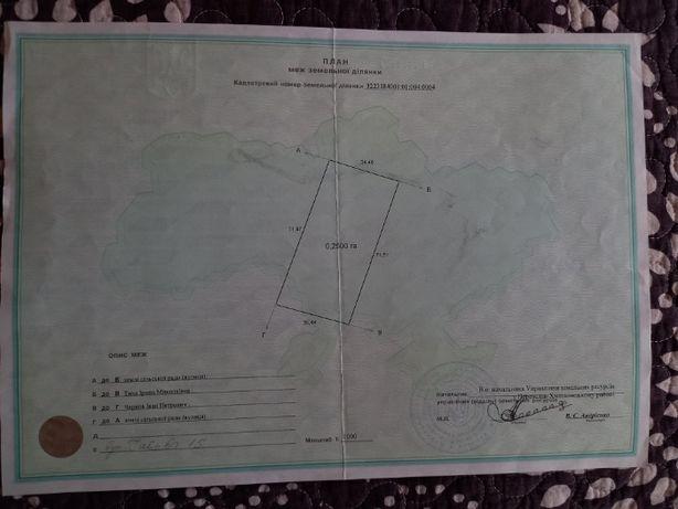 Продам земельный участок с.Козлов Переяслав-Хмельницкий р-н