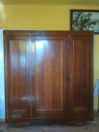 Szafa dębowa 3-drzwiowa, antyk