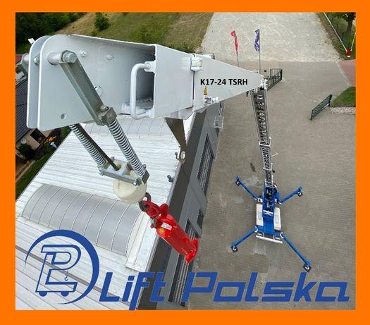 Dźwig dekarski KLAAS K17-24 TSRH 24m od Dealera LIFT POLSKA nie Bocker