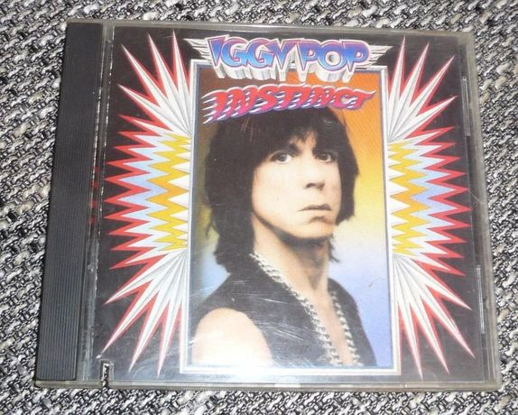 Iggy Pop instinct CD 1988 rok
