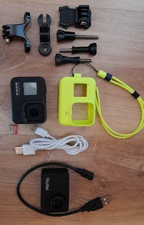 Kamerka GoPro Hero 8 Black + kamerka Rollei