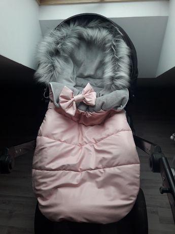 Śpiwór zimowy dla dziewczynki