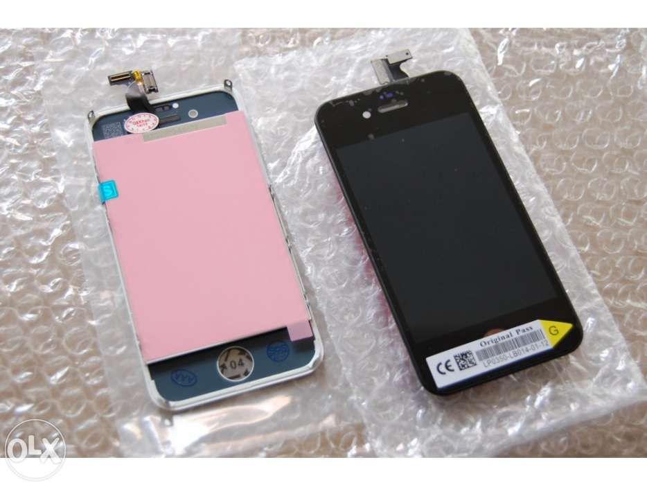 Vidro lcd ecra apple iphone 3Gs/4/4S/5/5S/5C/6/6plus/6S/6SPlus/7/7Pus Camarate, Unhos E Apelação - imagem 1