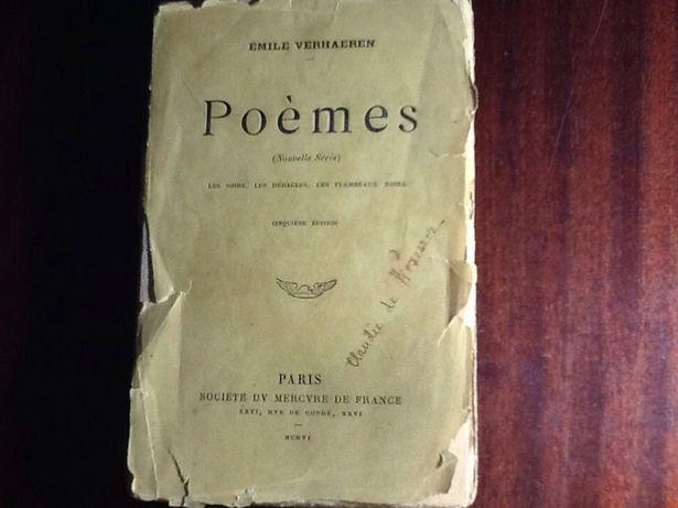 Эмиль Верхарн Emile Verhaeren издание 1906 года