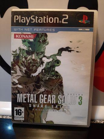 Metal Gear solid 3 Snake eater playstation 2