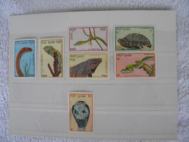 znaczki kambodża