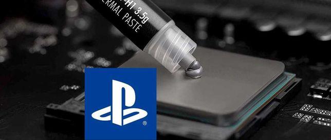 Czyszczenie SerwisPrzyspieszenie laptopów komputerów PS4 wymiana pasty