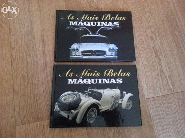 2 Livros '' As Mais Belas Maquinas ''