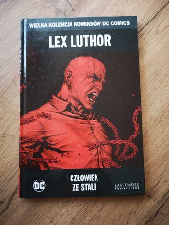 Komiks Lex Luthor - człowiek ze stali, Azzarello, Bermajo