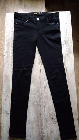 Czarne skinny, rurki, spodnie XS, S