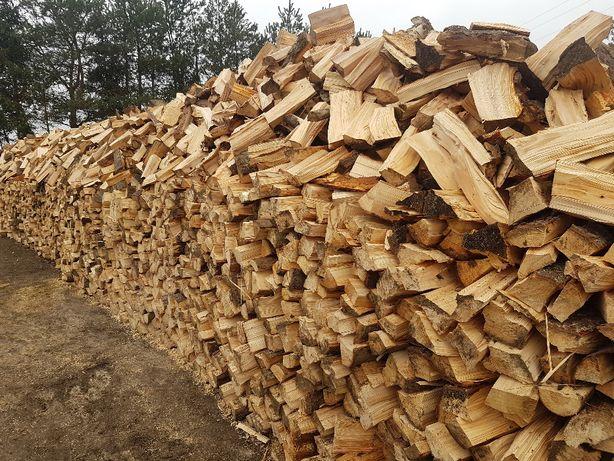 drewno kominkowe suche,trociny,drewno opałowe