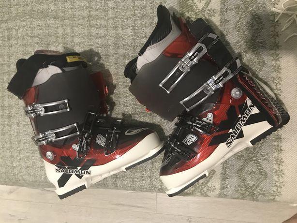 Продам лыжные ботинки Salomon, 28 размер