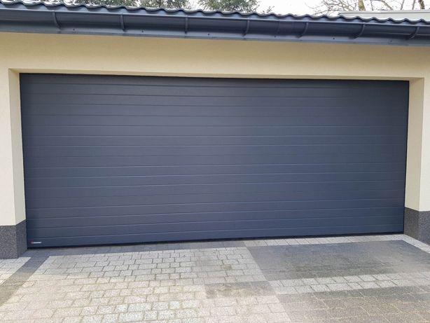 Bramy segmentowe garażowe KRISPOL - sprzedaż, montaż, serwis