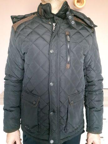 kurtka zimowa bardzo ciepla jak nowa