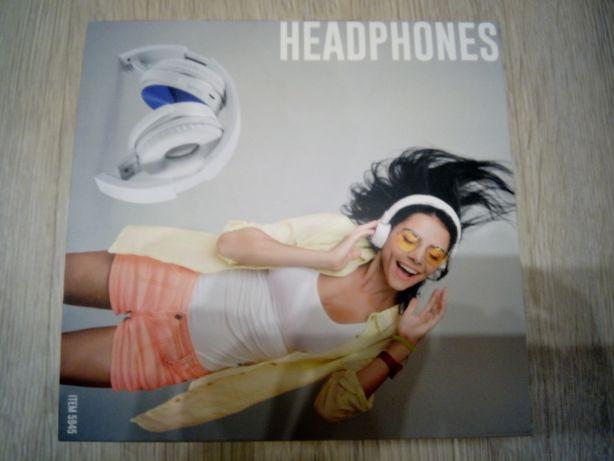 Headphones completamente novos, com caixa e componentes de origem