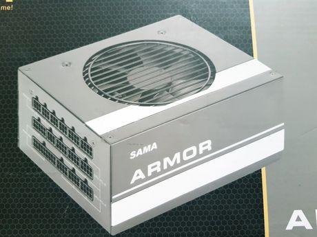 JAK NOWY Zasilacz modularny SAMA ARMOR 650W, 80 plus GOLD, HTX-650-B7