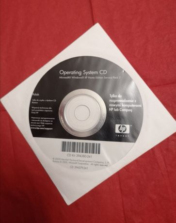 Windows XP płyta CD