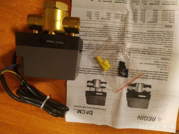 Клапан с приводом DFCM, Regin DFCM 315/3.2