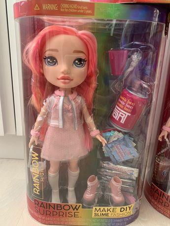 Оригинал Пупси Слайм Девочки Poopsie Rainbow Girls розовая