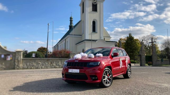 Wynajem auta do ślubu z kierowcą | JEEP GRAND CHEROKEE SRT8 6.4 HEMI