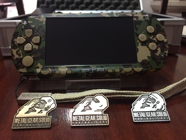 Metal Gear Solid Portable Ops Limited Edition Psp 1000 Consola