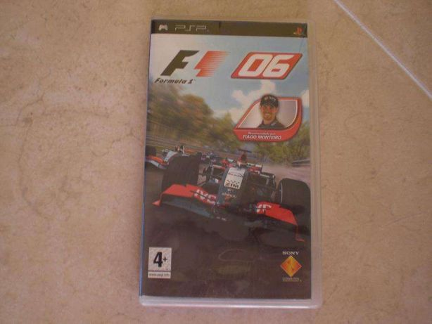 Jogo PSP - Formula One 06