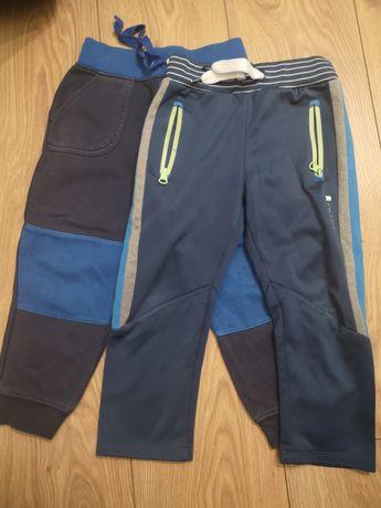 Spodnie dresy 2 szt za 15 zl