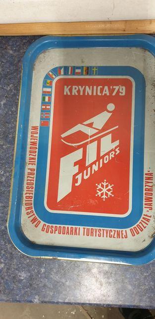 Taca metalowa Krynica 79