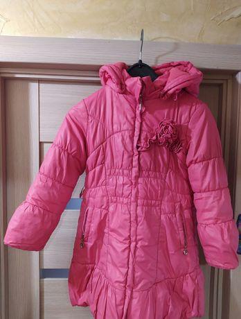 Куртка зимова на 5-7 років
