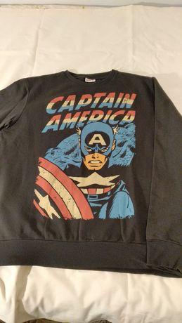 Bluza męska Marvel captain america