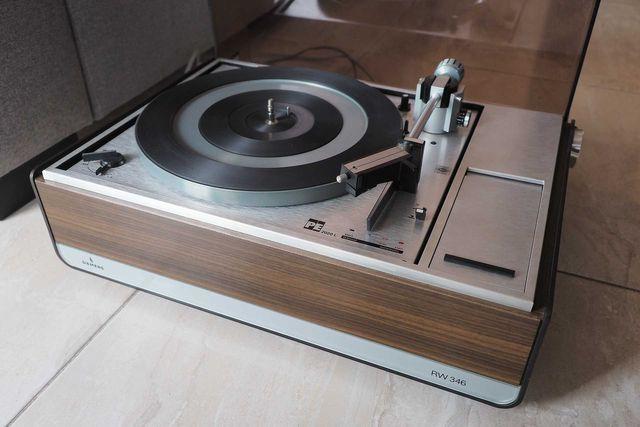 Gramofon PE 2020 - DUAL - Siemens RW 346 - automat