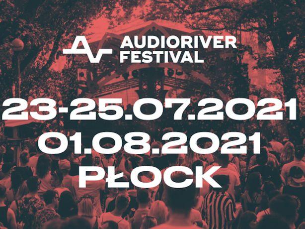Bilety Audioriver 2021 3 dniowe - 4 szt