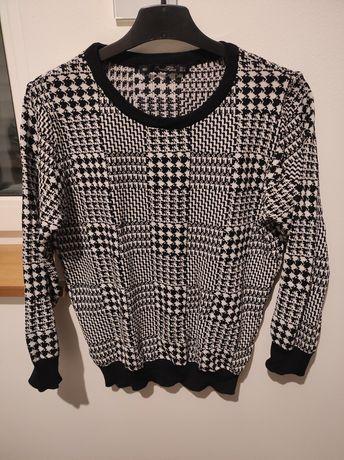 Sweterek Zara Knit L M 38 40 pepitka