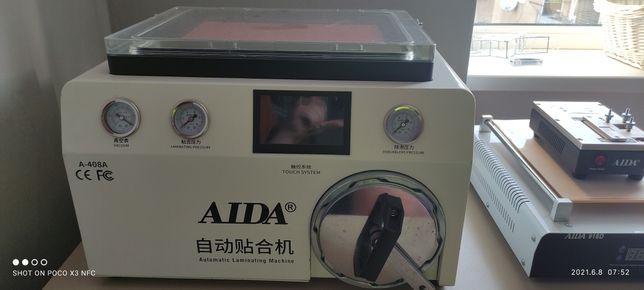 Вакуумный ламинатор + автоклав для переклейки дисплеев AIDA A 408-a