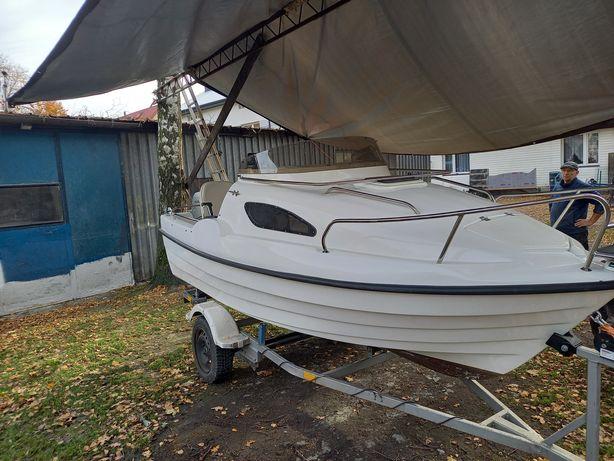 Łódź kabinowa 4,25 HONDA 30KM łódź motorowa