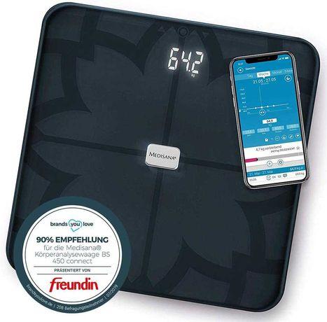 Весы напольные с анализатором Medisana® BS 450 Connect Germany