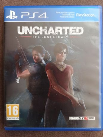Gra na PlayStation 4 PS4 Uncharted: The Lost Legacy PL, Zaginione Dzie