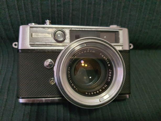 Yashica Lynx 5000 E vintage câmera de filme 35 mm Rangefinder Yashinon