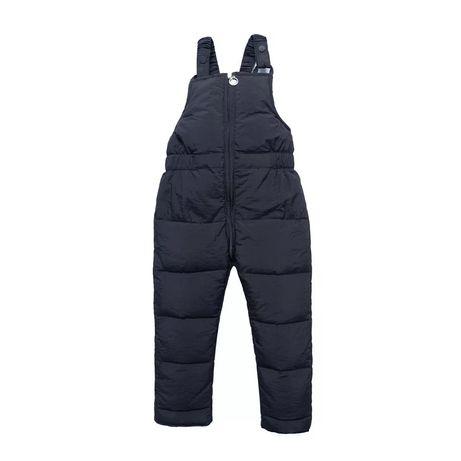 Зимний теплый комбинезон зимние штаны на мальчика от 1 до 6 лет