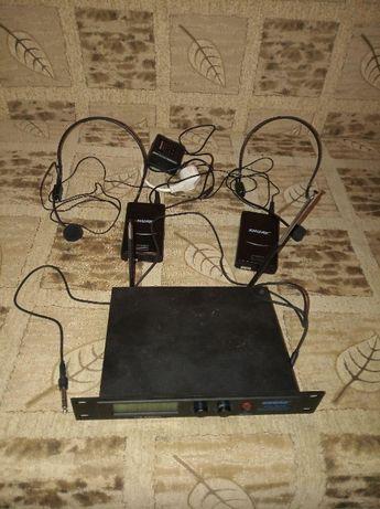 Радиомикрофоны Shure SM-58III