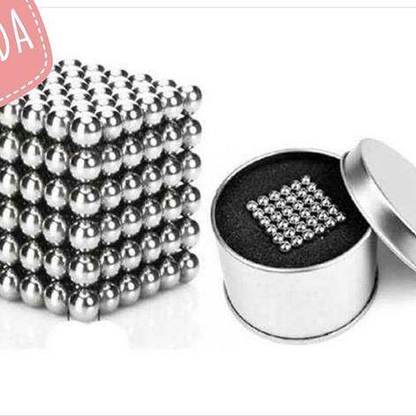 Неокуб игрушка головоломка, магнитные шарики 5 мм, куб магнит развитие