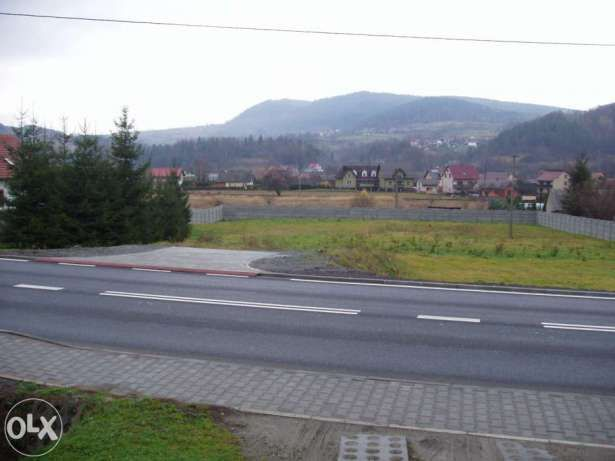 Działka budowlana teren inwestycyjny market,sklad,komis,myjnia,parking